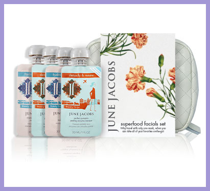 June Jacobs Superfood Facials Set